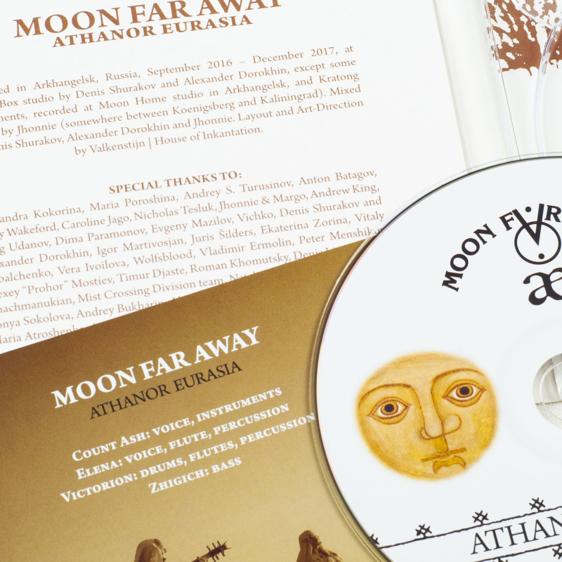 Moon Far Away - Athanor Eurasia CD