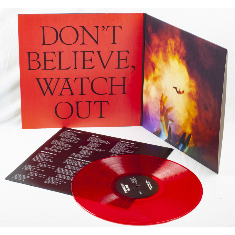 Pencey Sloe - Don't Believe, Watch Out Vinyl Gatefold LP     Red