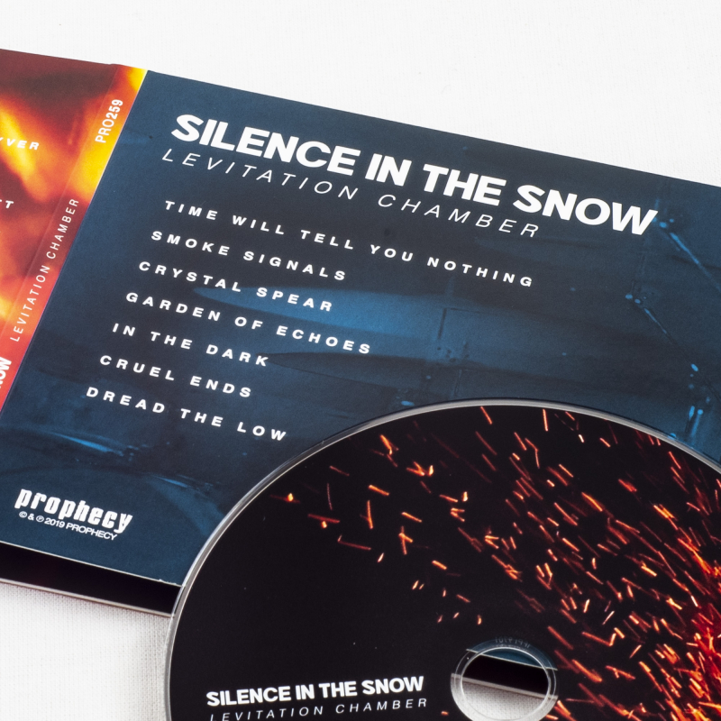 Silence In The Snow - Levitation Chamber CD Digipak