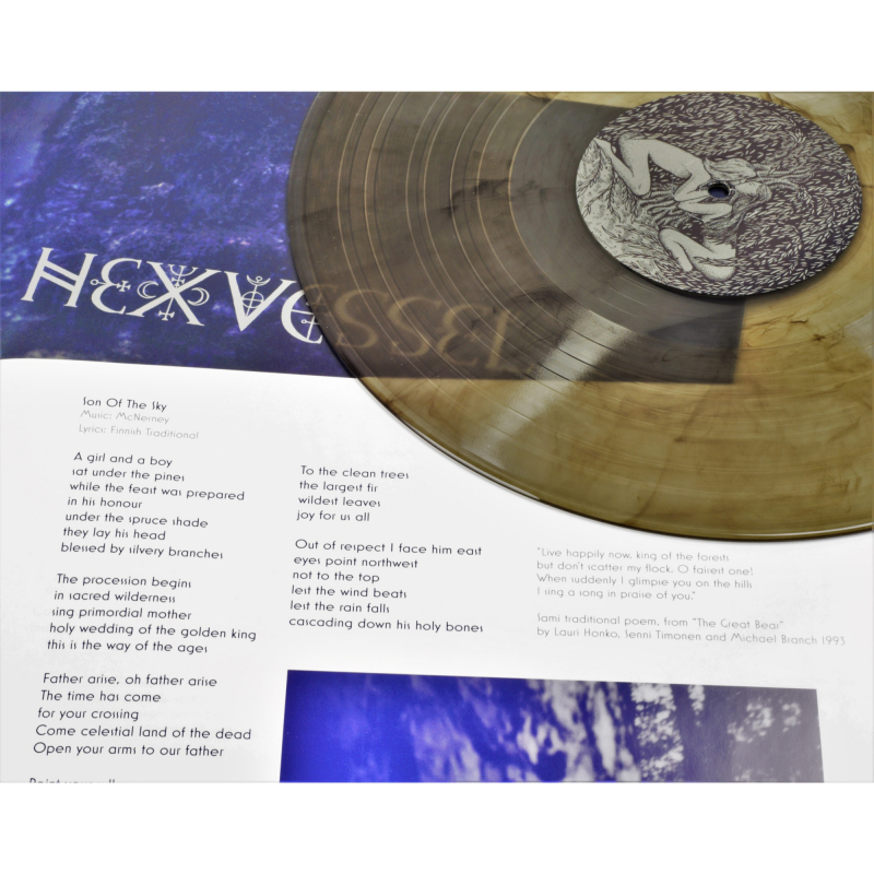 Hexvessel - All Tree Vinyl Gatefold LP  |  Clear-black marble