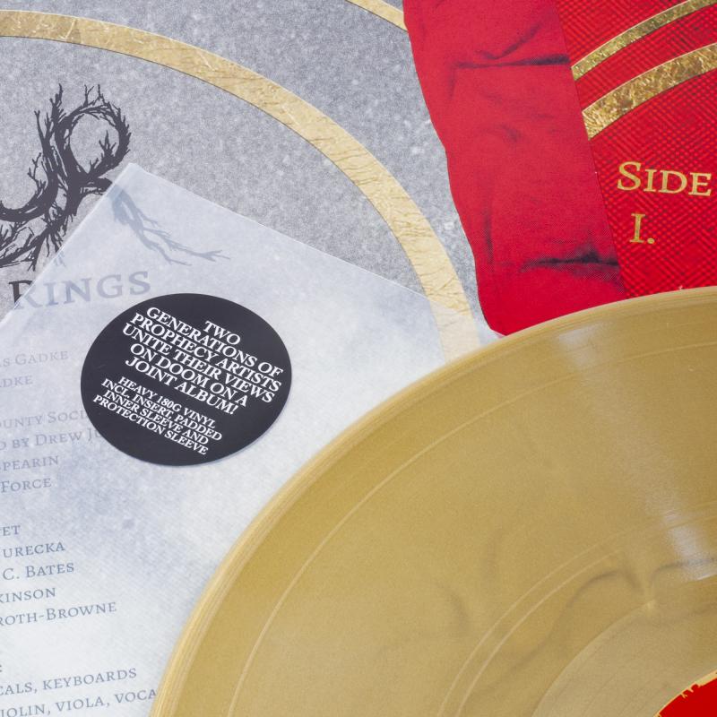 Völur - Breaker Of Rings / Blood Witch (Völur / Amber Asylum) Vinyl LP     Gold