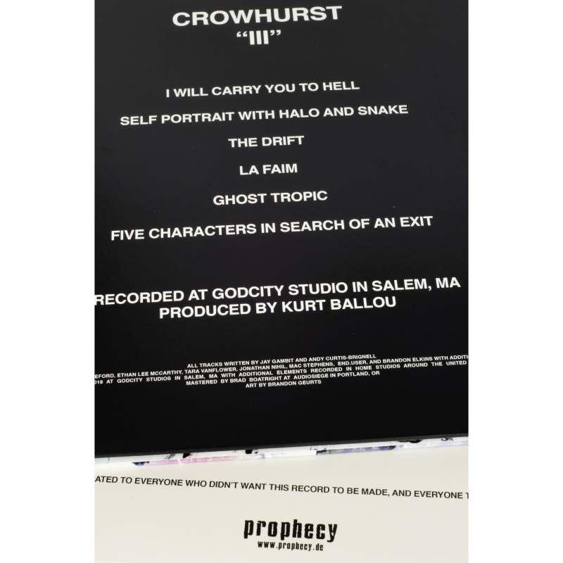Crowhurst - III Vinyl Gatefold LP  |  Black
