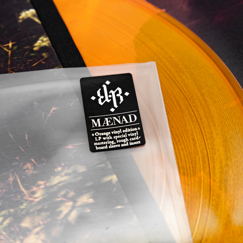 E-L-R - Mænad Vinyl LP  |  Orange